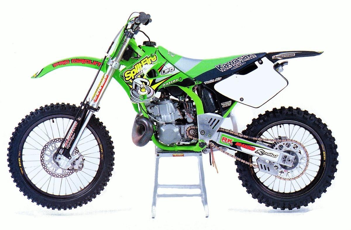 Retro Kawasaki Motocross Gear