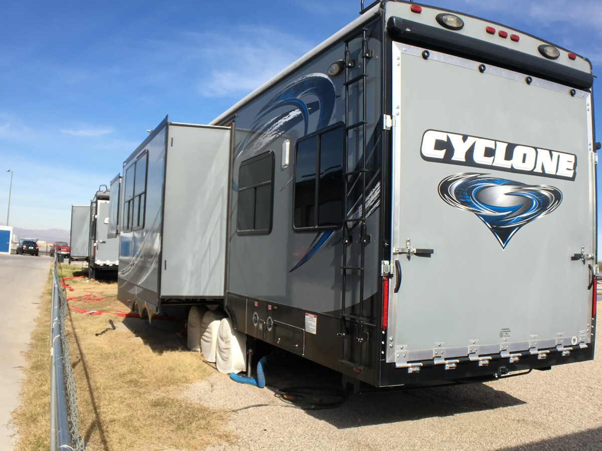 2015 Cyclone 4200 Toy Hauler For Sale Bazaar Motocross