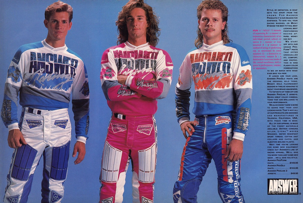 Chevy Dealership Charlotte Nc >> Answer Racing in the 1980s - Moto-Related - Motocross ...