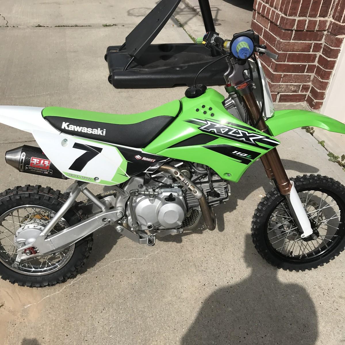 Klx 110 Or 110l For Pitbike Tech Help Race Shop Motocross