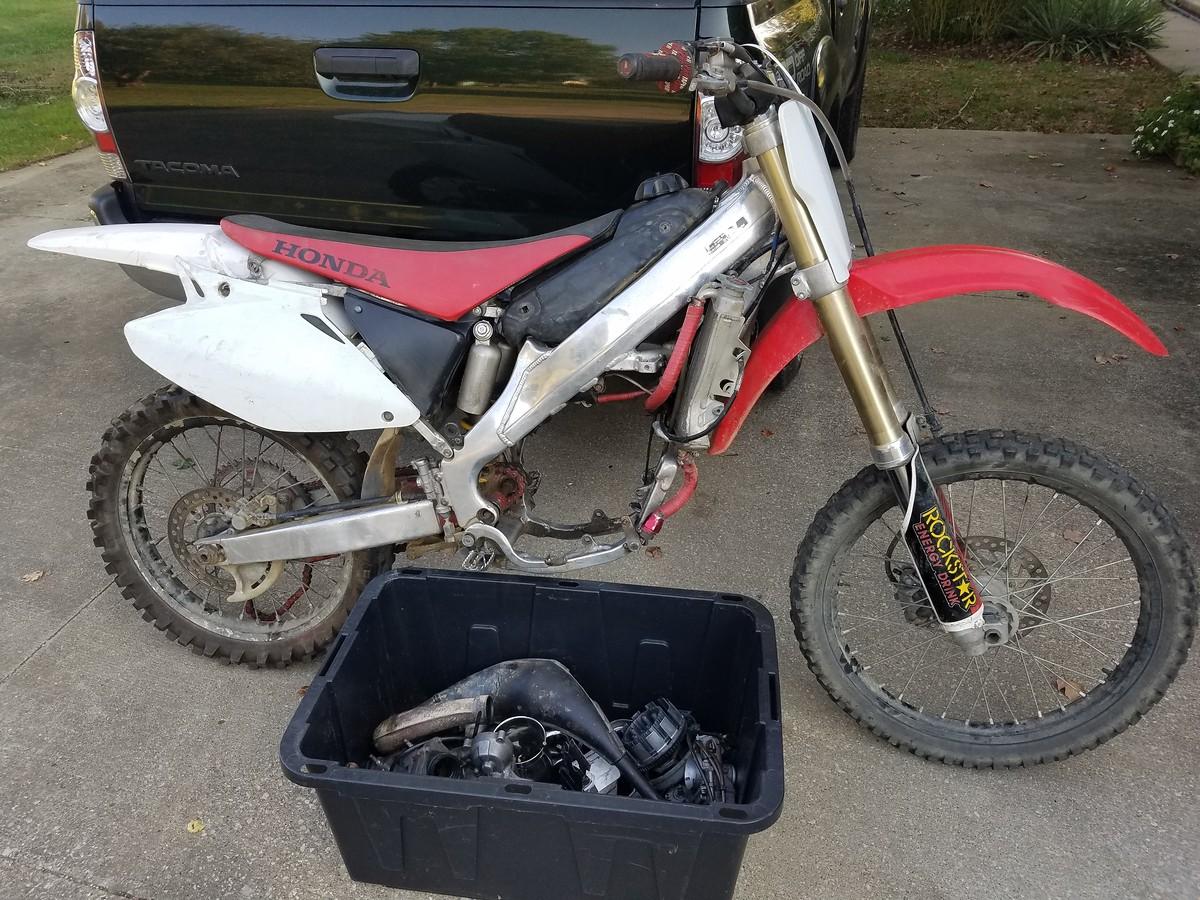 2006 CR125 Budget Frame Up Rebuild - Bike Builds - Motocross Forums /  Message Boards - Vital MX