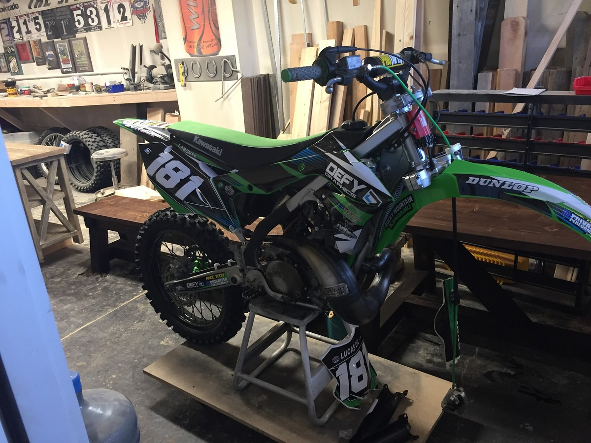 2014 Kx 250 Two Stroke Plastic Conversion - Moto-Related - Motocross Forums / Message Boards