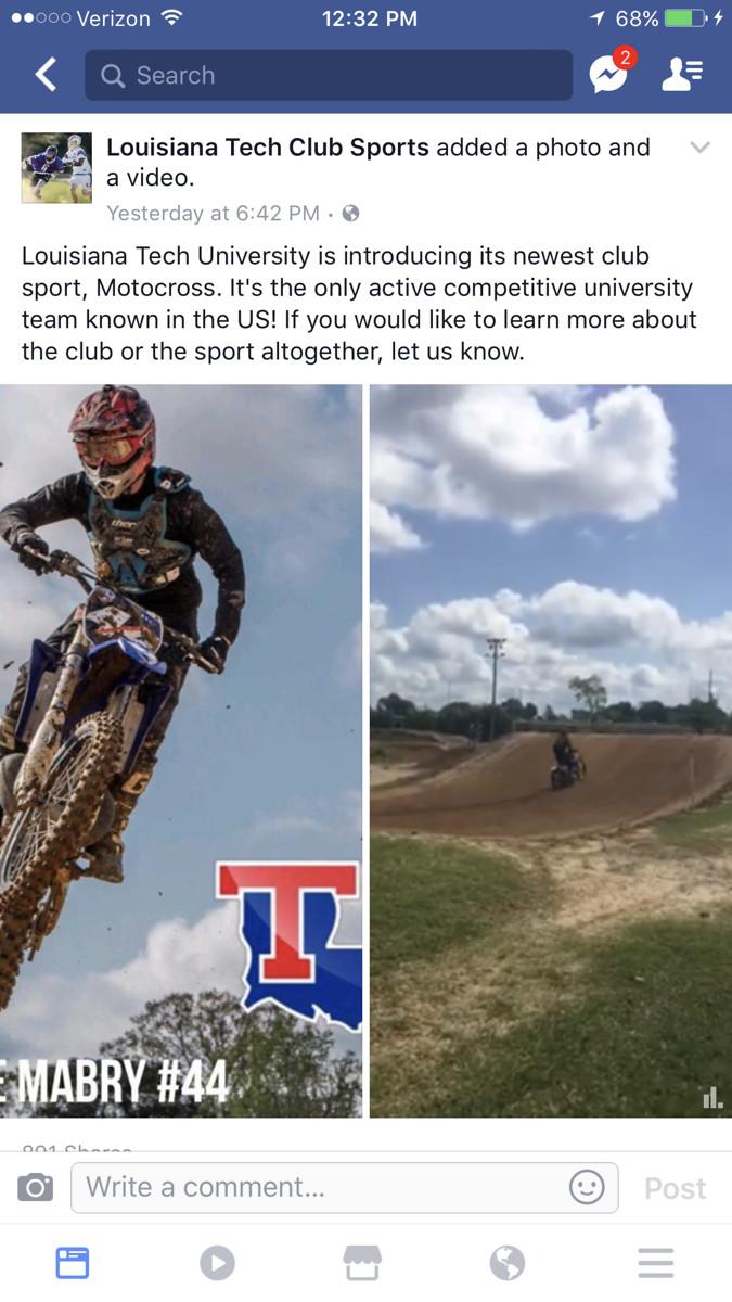 Louisiana Tech University Mx Moto Related Motocross Forums Message Boards Vital Mx