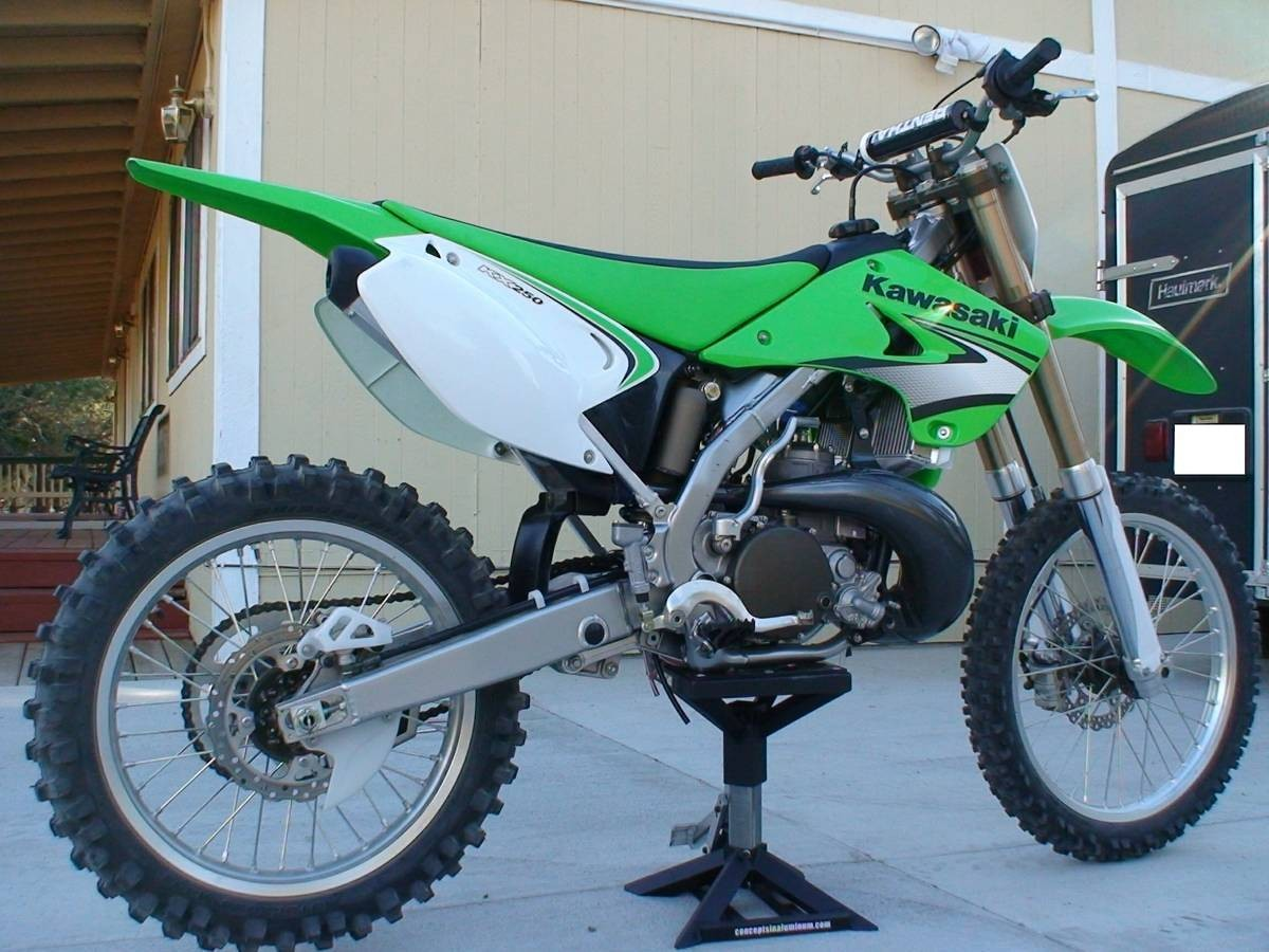 2007 kx250 2 stroke brand new condition - For Sale/Bazaar ...