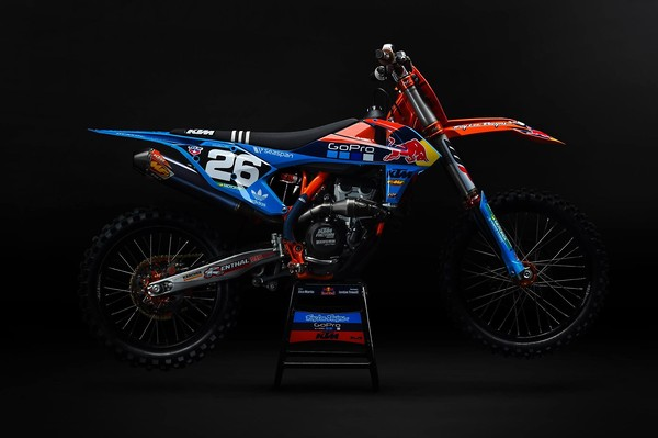 Troy Lee Designs/Red Bull KTM's Washougal Graphics - Moto