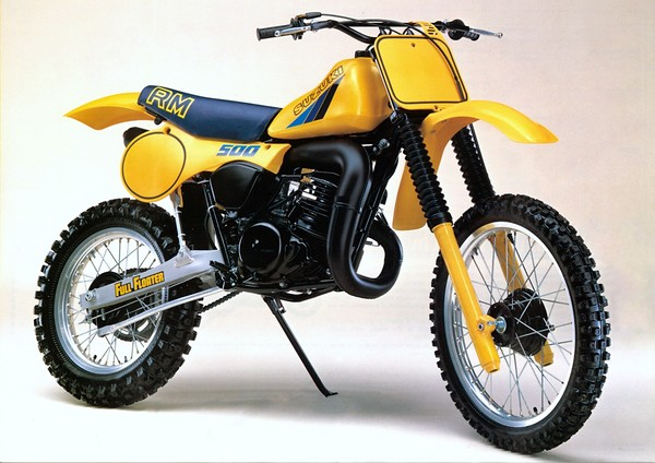 d15a3960e5285 Classic Steel  123 on the 1983 Suzuki RM500 is up for your moto ...