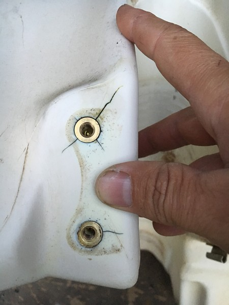 Anyone Ever Had Any Success Repairing S In Plastic Gas Tanks