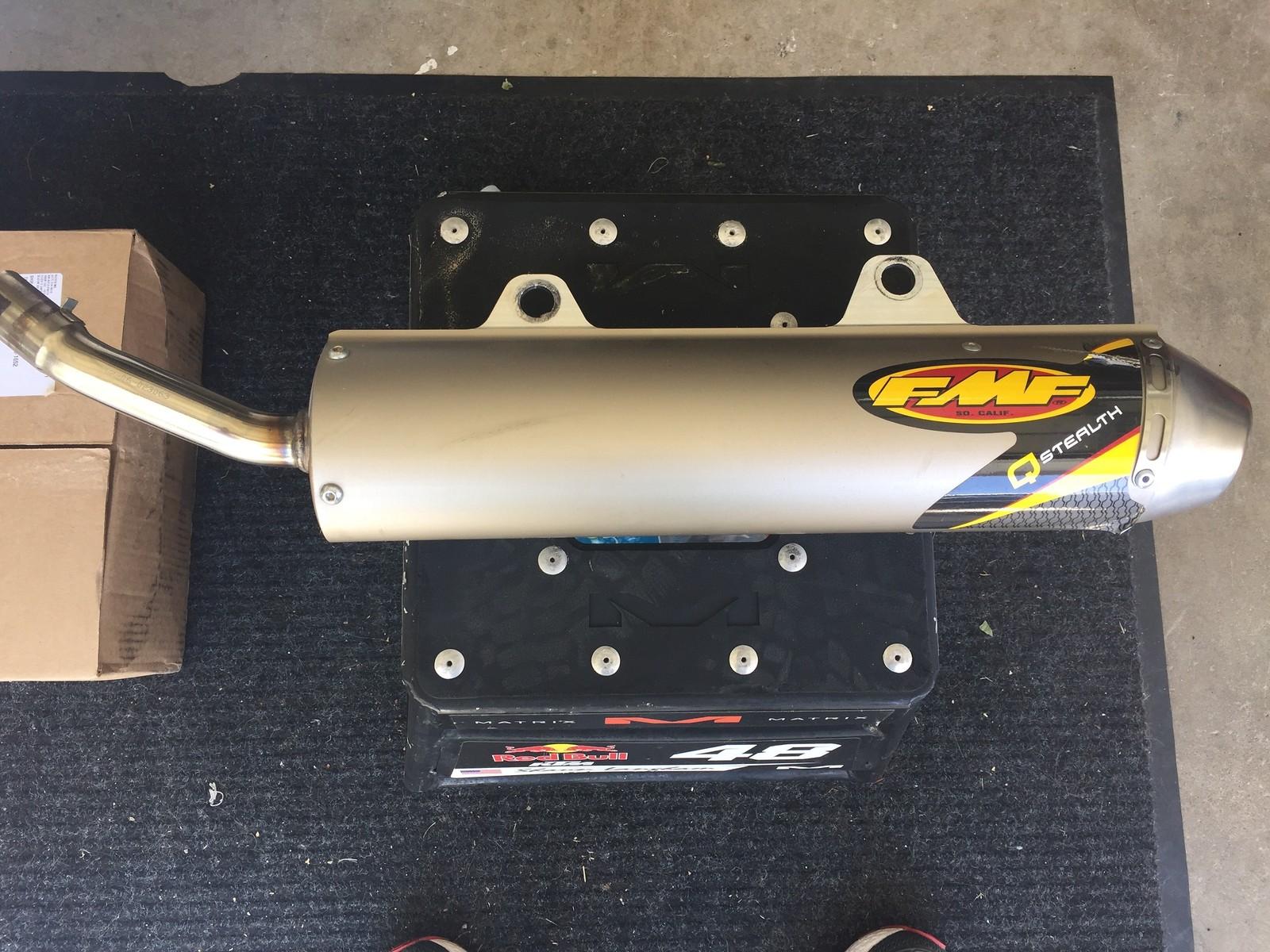 Rm 250 FMF Stealth Silencer/ SA - For Sale/Bazaar - Motocross Forums