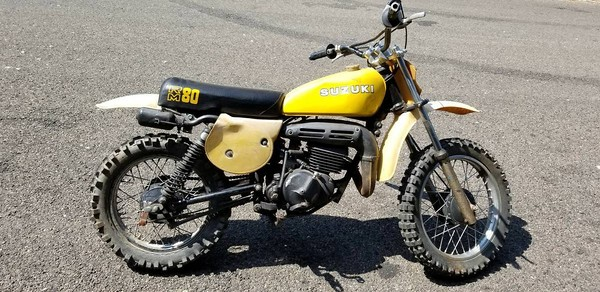 Anyone has a Suzuki RM80C 1978 for sale? - Old School Moto