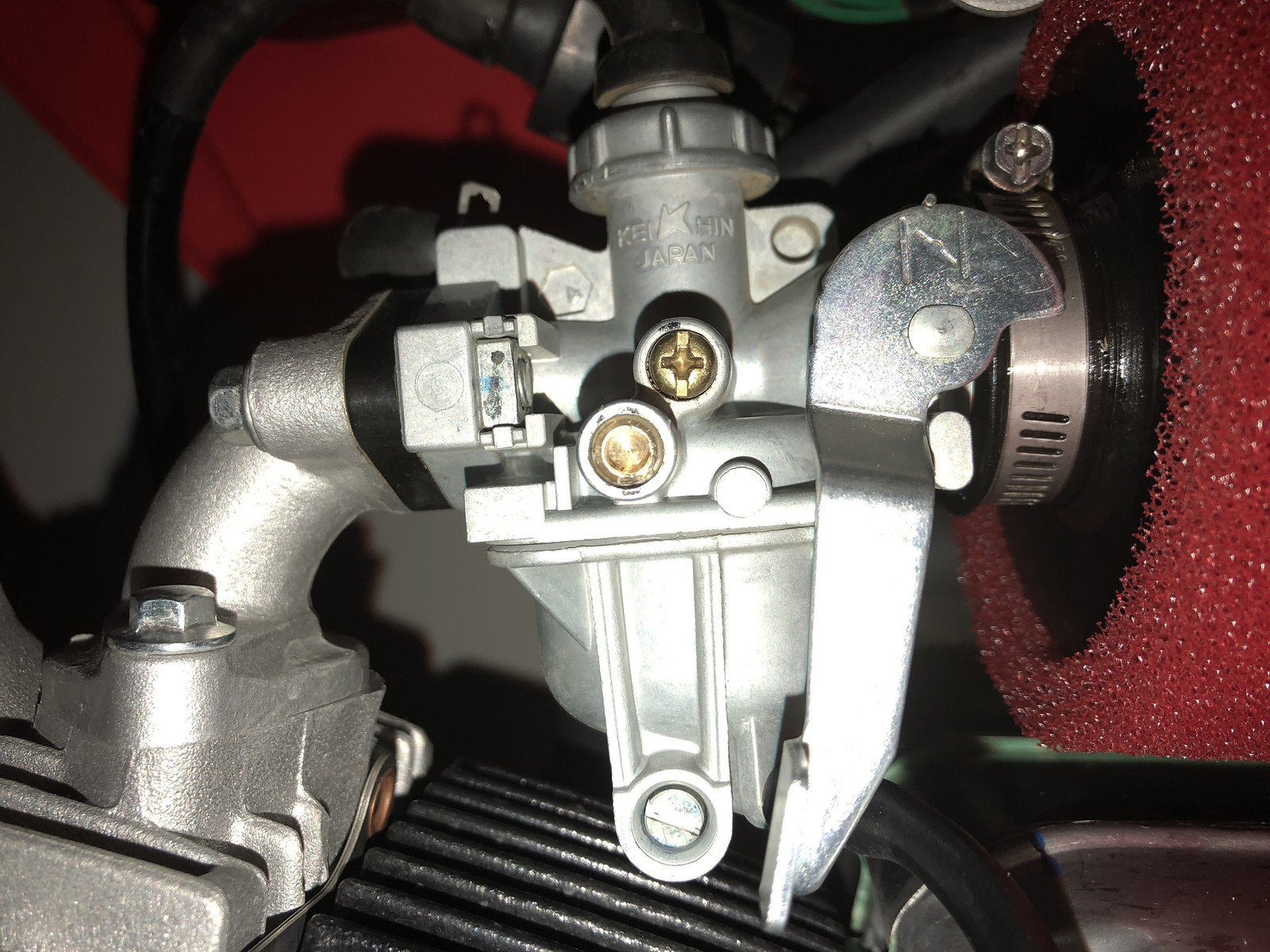 For The Love Of God Please Help Me Tune This Crf50 Carb Getting Kick Start Wiring Diagram So Clean Not Only Has Been Done But Is Obviously Problem See Pic Brass Fitting Any Ideas Other Than Buy An Older With