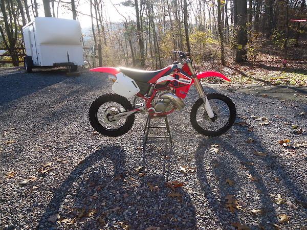 OLDSCHOOL BMX MX RESTAURATION KIT FRONT FORK REAR SHOCK BARS SEAT MOTOCROSS NOS