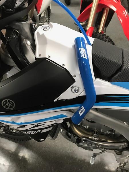 2014-2018  YAMAHA YZ250F YZF 250  MOTO HOSE COLORED RADIATOR HOSE KIT WHITE