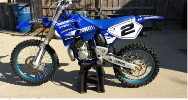 Craigslist find: 1998 Chaparral YZ250 - Moto-Related