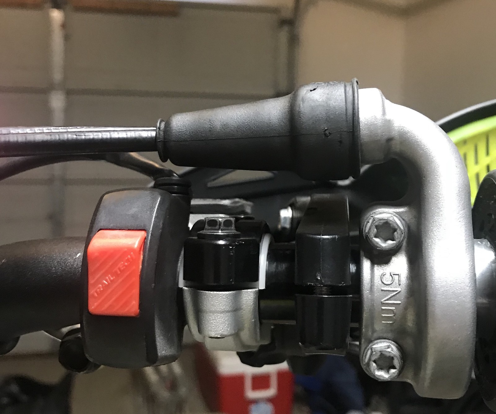 2016 Ktm 250sxf Map Switch Handlebar Tech Help Race Shop 2014 350 Sx F Wiring Diagram Bought A Trailtech Headlight And Hard Wired It In Functions The Same With Two Position Lot Of Guys I Know This Style Did