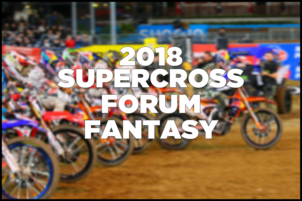 Welcome, One And All, To The 2018 Vital MX Supercross Fantasy League! This  League Will Be Run In More Of A Traditional Format, Although It Will Be A  Bit ...