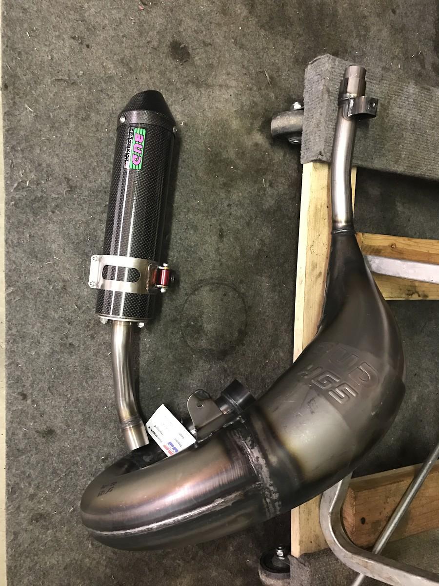 HGS Pipes? - Tech Help/Race Shop - Motocross Forums / Message Boards