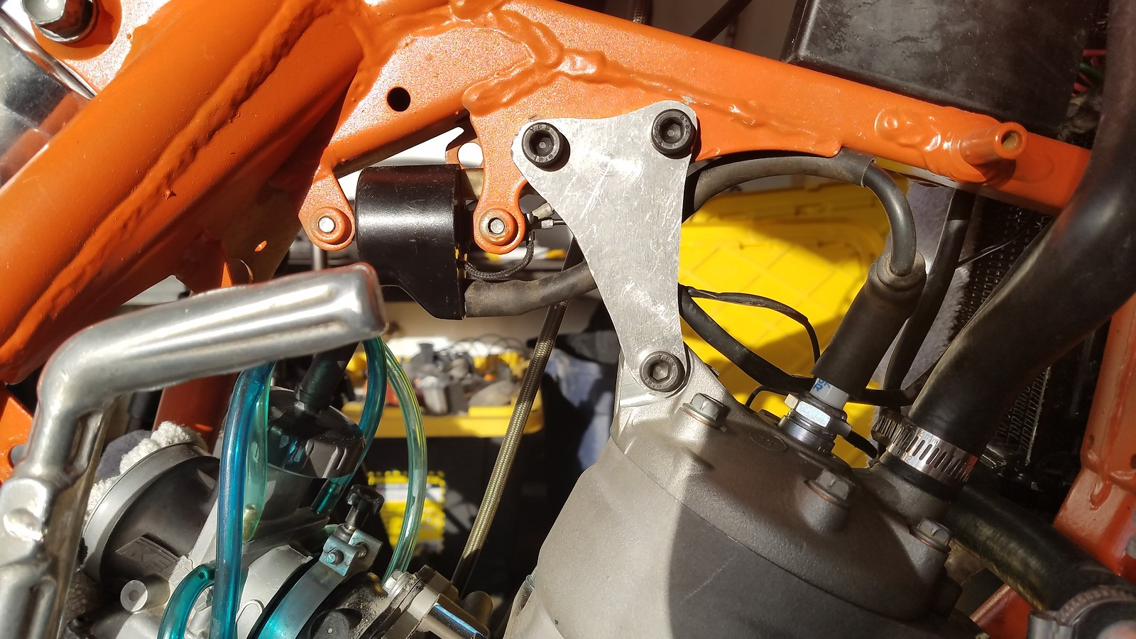 2003 Ktm 125sx 400 Craigslist Special Bike Builds Motocross 125 Sx Wiring Diagram Seal Thickness Compared To The Distance Between Upper Fork Lip And Bottom Of Circlip Groove Then I Cut Up Some Head Stays
