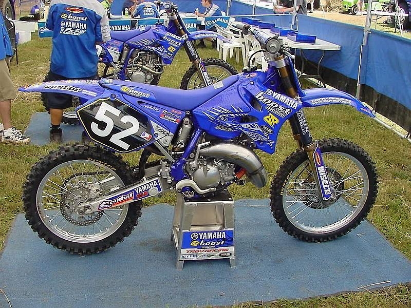 Yamaha Of Troy YZ125 graphics needed - For Sale/Bazaar