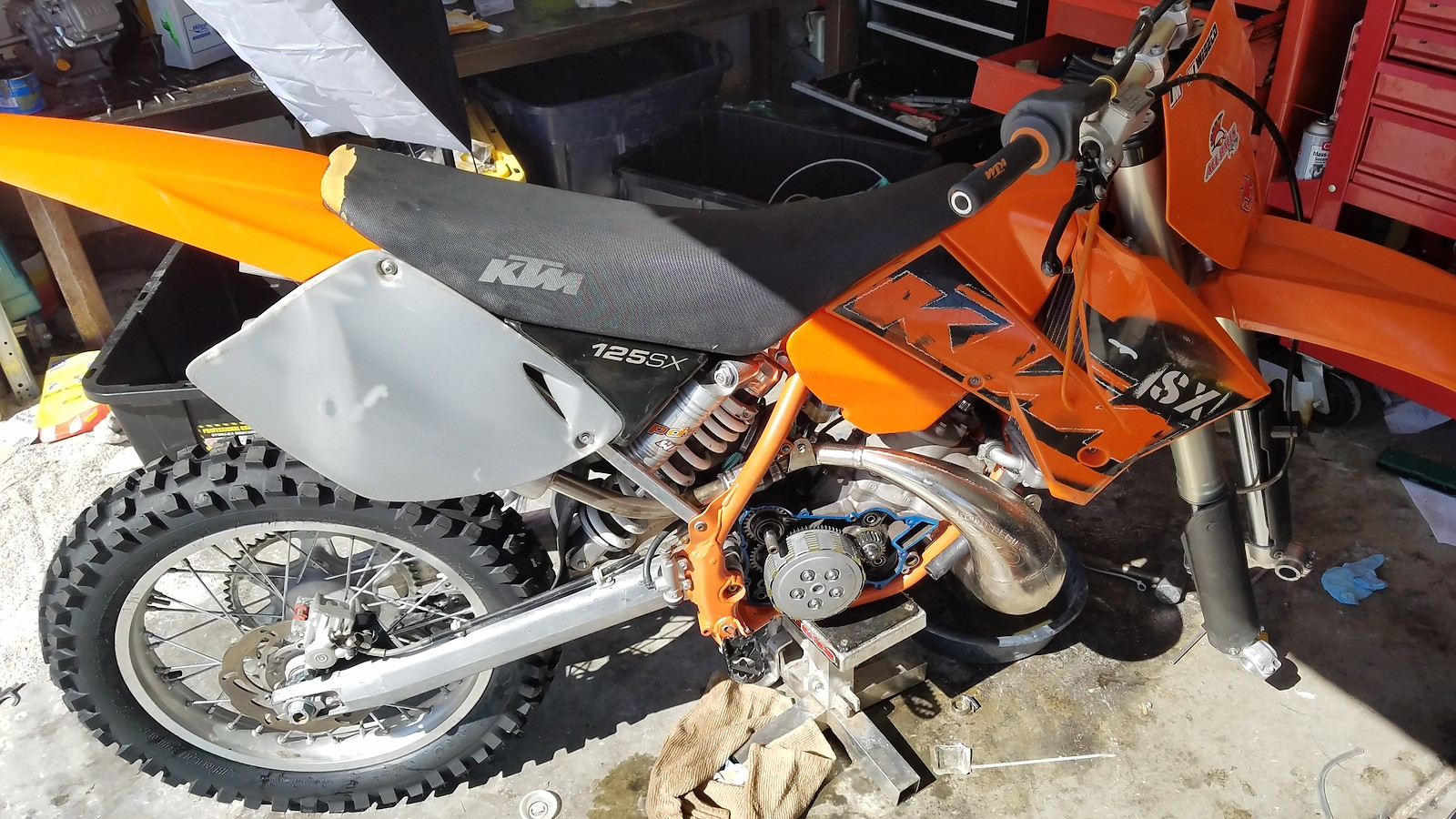 2003 Ktm 125sx 400 Craigslist Special Bike Builds Motocross 125 Sx Wiring Diagram New Skills Along The Way Next Project I Take On Will Be More Meticulous With Have A Kdx200 And Crf250r That Picked Up For About