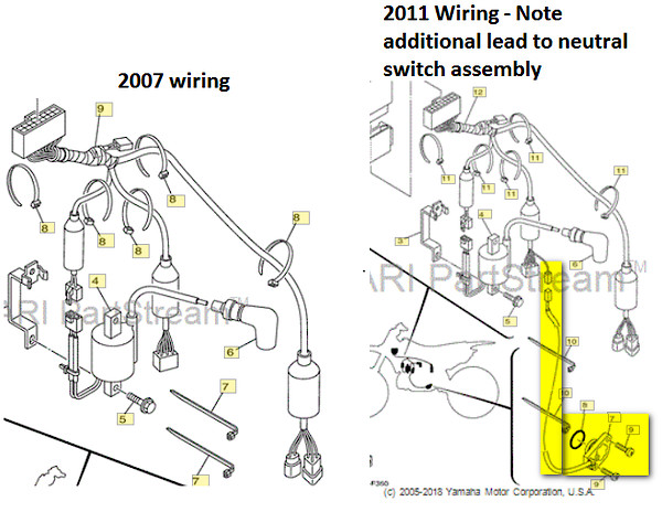 yamaha yz250 wiring diagram yz250 rebuild electrical inquiry tech help race shop  yz250 rebuild electrical inquiry
