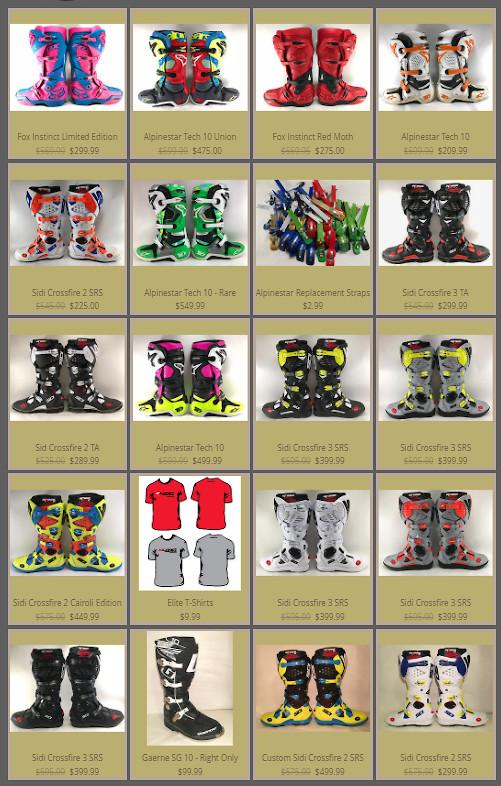 Boots for Sale - For Sale/Bazaar - Motocross Forums