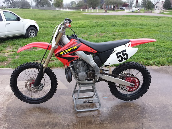 Package Deal 2003 Honda Cr250 With 2001 Cr250 Engine 2001 Roller