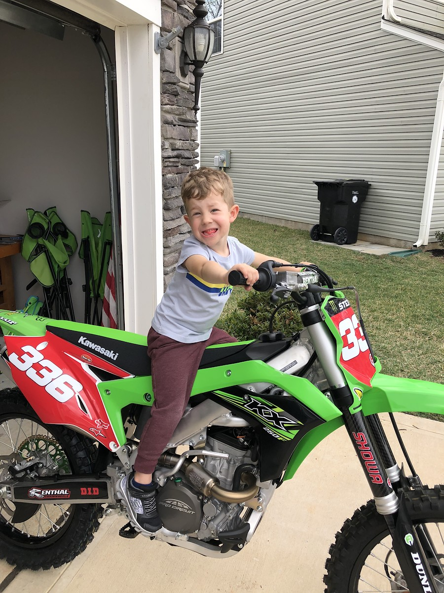 Whats Your Dirt Bike History Moto Related Motocross Forums Honda 125 Elsinore And Soon To Add A 2019 Kawasaki Kx250f