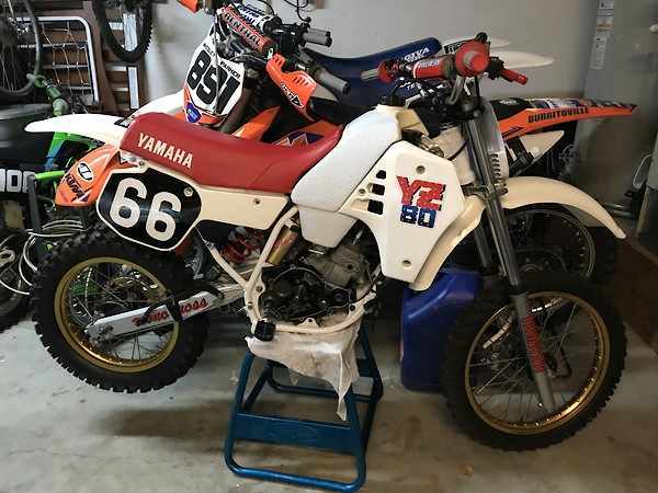 86 92 Yz80 Differences Old School Moto Motocross