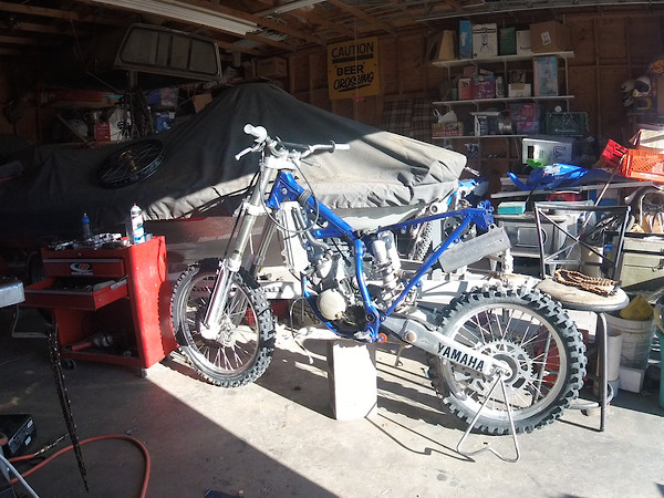 150$ 2000 yz 125 Budget Build - Bike Builds - Motocross