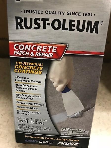 Filling cracks in concrete floors - Non-Moto - Motocross Forums