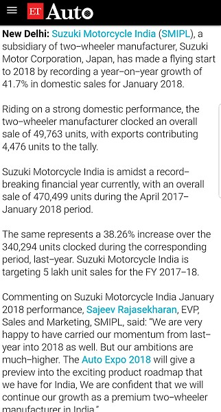 Interesting news about Suzuki's future - Moto-Related