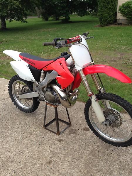 2002 CR250 Restoration Build - Bike Builds - Motocross Forums