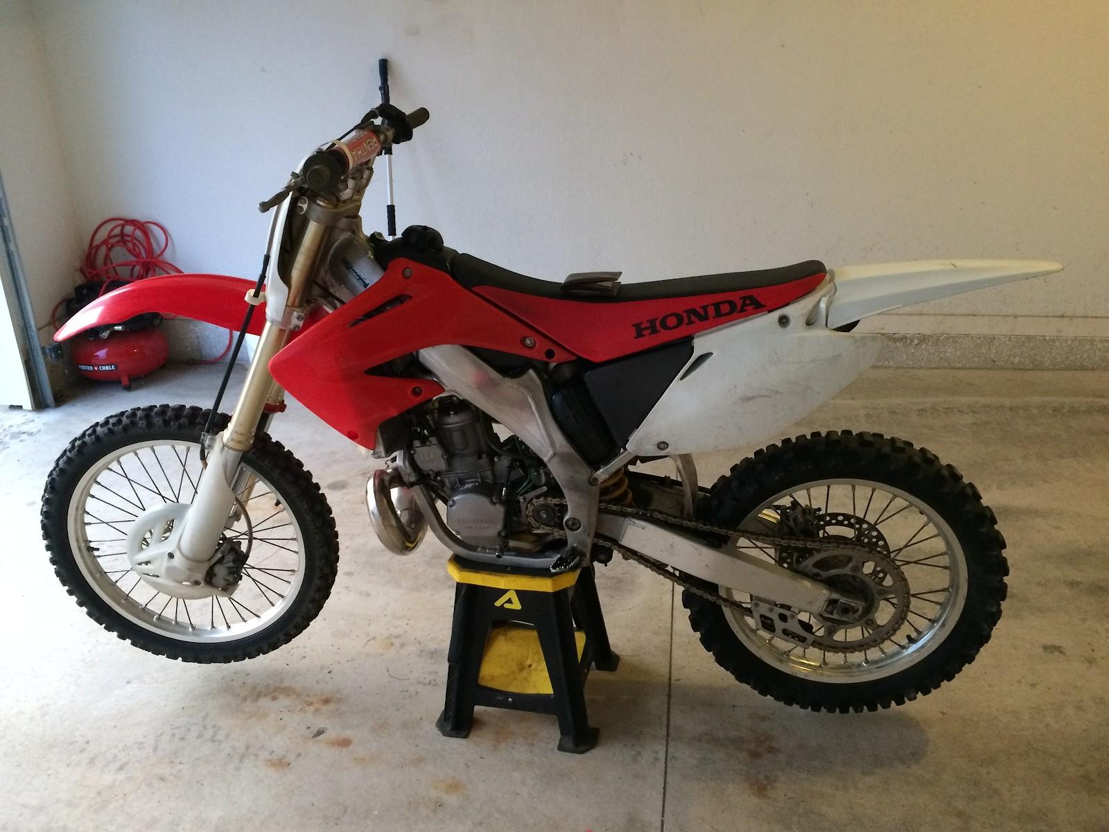 2002 CR250 Restoration Build - Bike Builds - Motocross