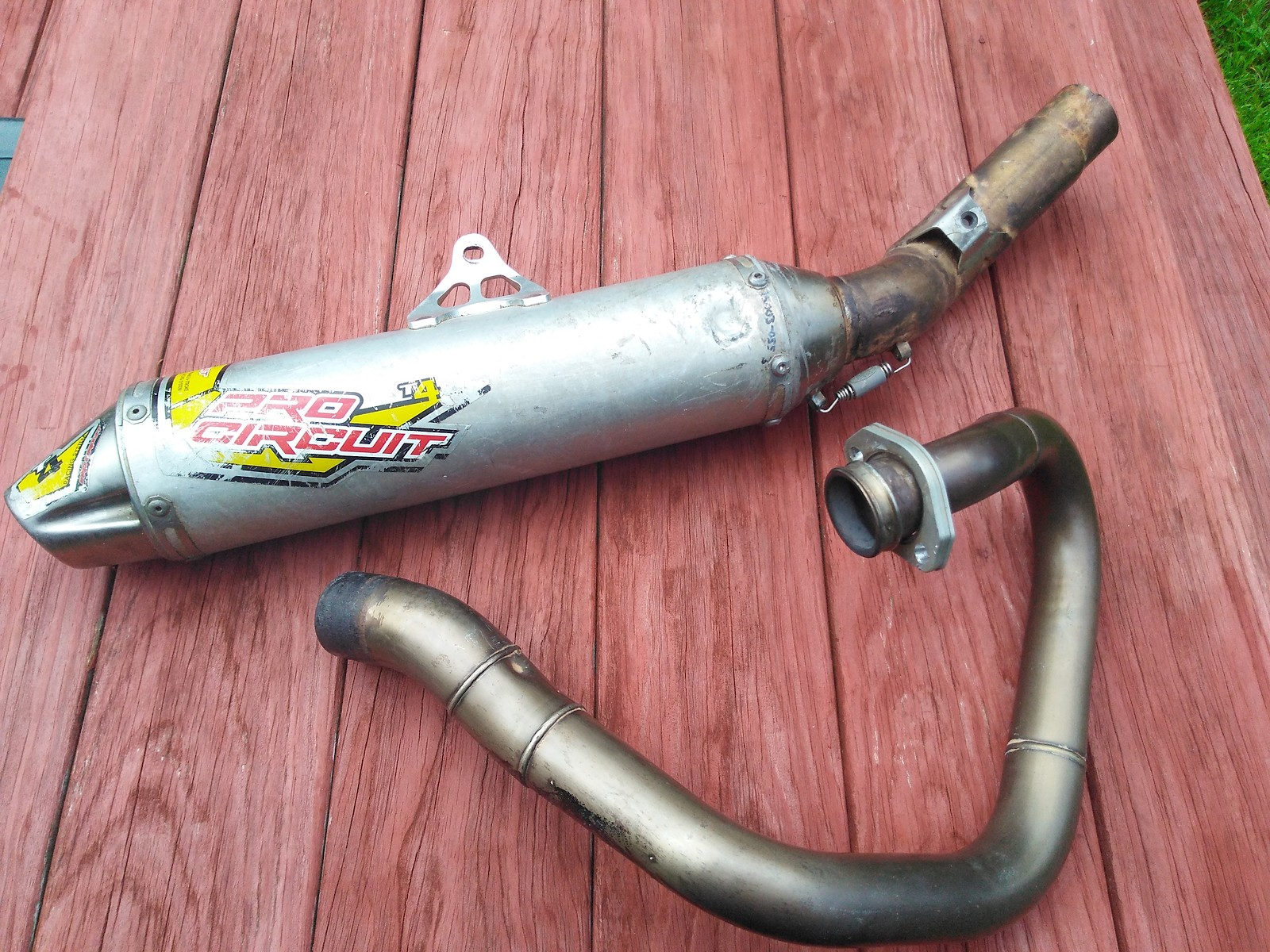Pro circuit exhaust t4 with yosh head pipe  $250 - For Sale