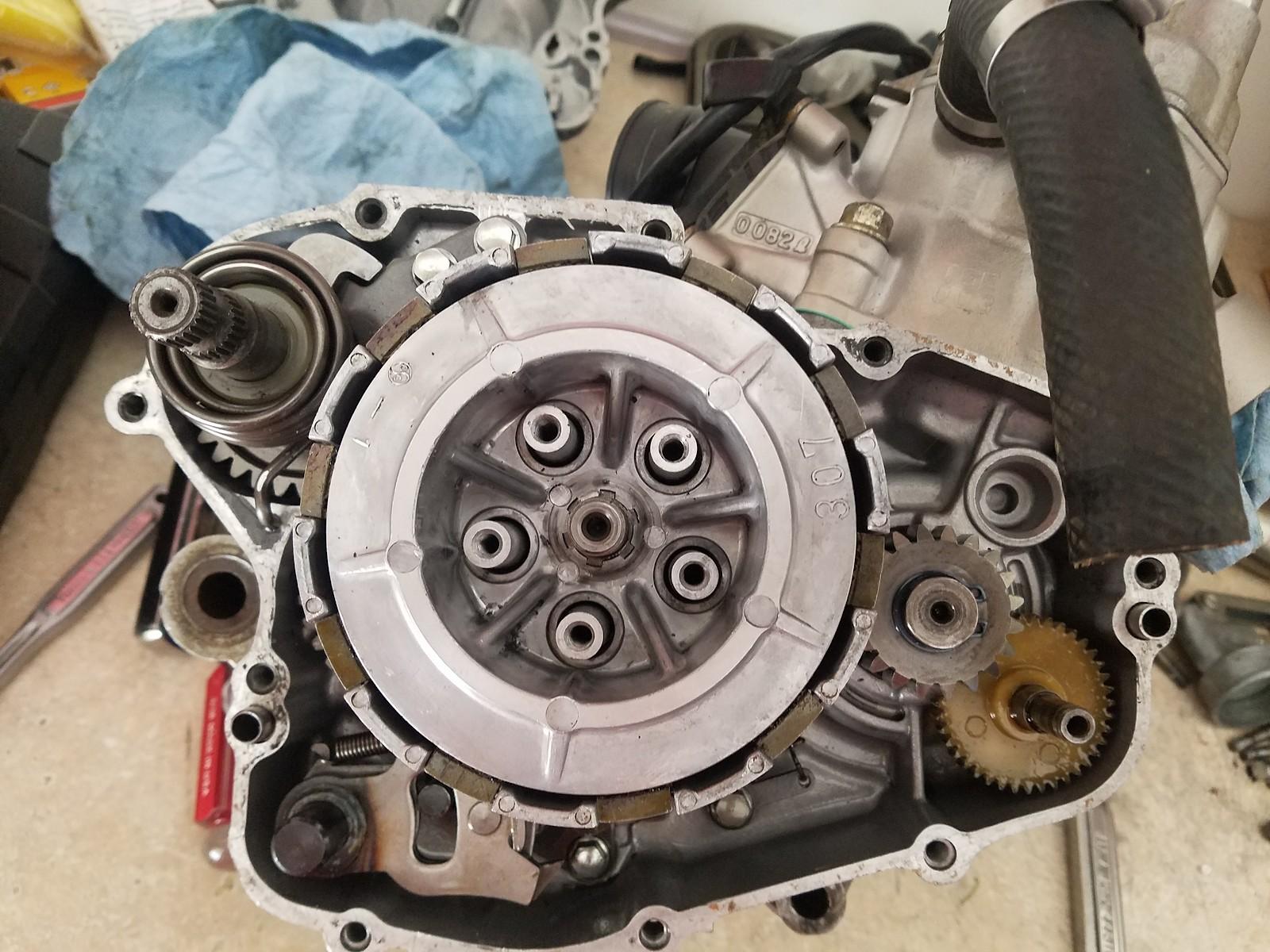 KX80 Clutch basket removal - Tech Help/Race Shop - Motocross