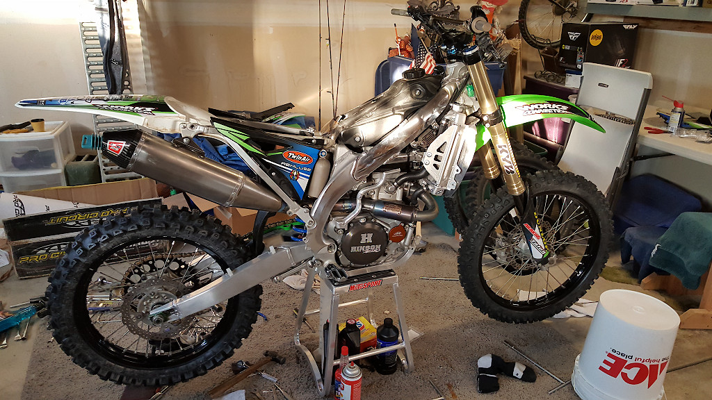 2014 KX450f bog and hesitation at 1/4 throttle - Tech Help/Race Shop