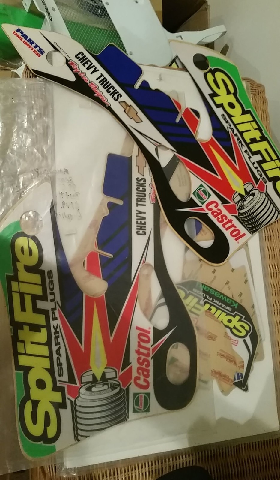 2000 kx125 nstyle splitfire graphics kit and seat cover new