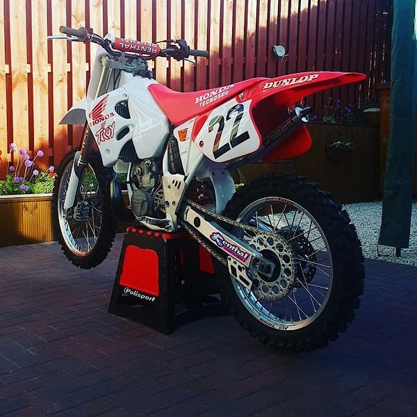 Honda Of Troy >> Early Honda Of Troy Graphics Old School Moto Motocross