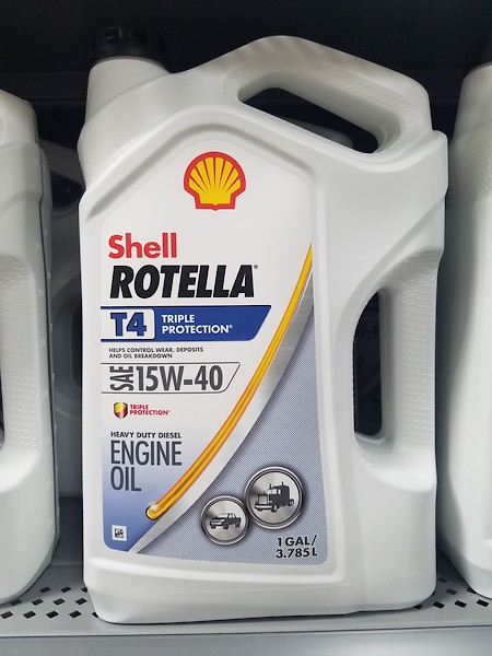 Shell rotella t4 diesel engine oil for yz250 2t? - Moto-Related