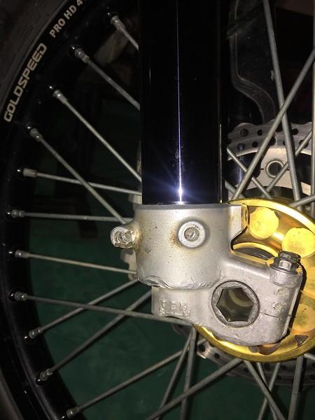 Fork/Axle Lug Repair - Tech Help/Race Shop - Motocross Forums