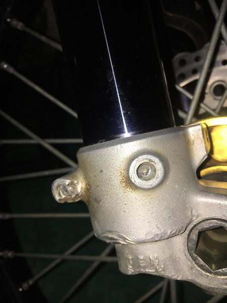 Fork/Axle Lug Repair - Tech Help/Race Shop - Motocross