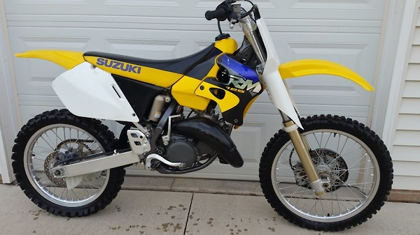 Craigslist find: unique 97 RM250 - Moto-Related - Motocross