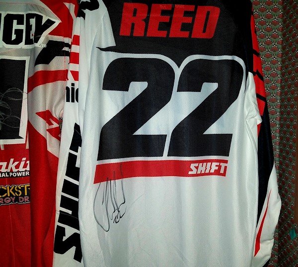 Chad Reed Jerseys - For Sale/Bazaar - Motocross Forums / Message ...