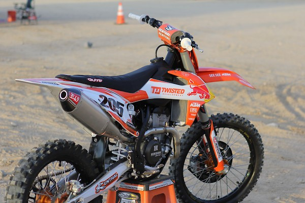 Are you happy with how your 2019 KTM/Husqvarna 450 runs? - Moto