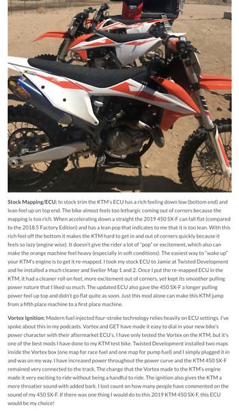 Tokyo Mods - Tech Help/Race Shop - Motocross Forums