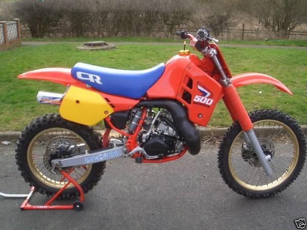 1985 Honda CR500 kick start alternatives? - Old School Moto
