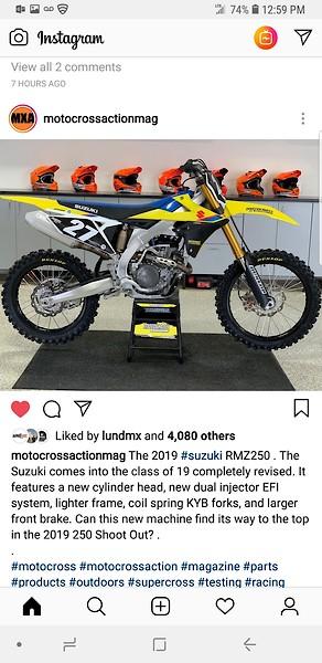 Forum QNA: 2019 250 Shootout - Moto-Related - Motocross Forums