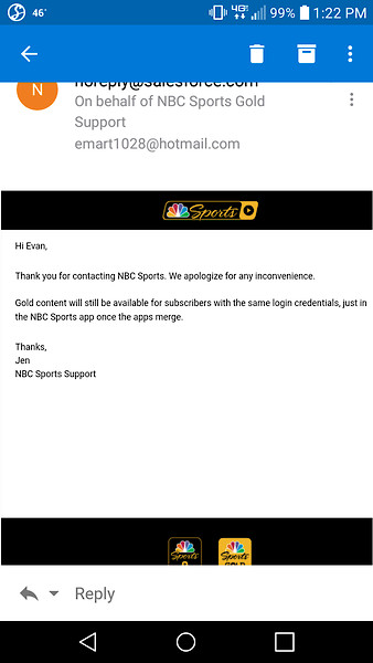 NBC SPORTS APP New Way to Watch Your Sport starting JAN 4