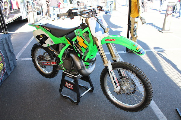 Ricky Carmichael Chevy Truck KX250 - Moto-Related