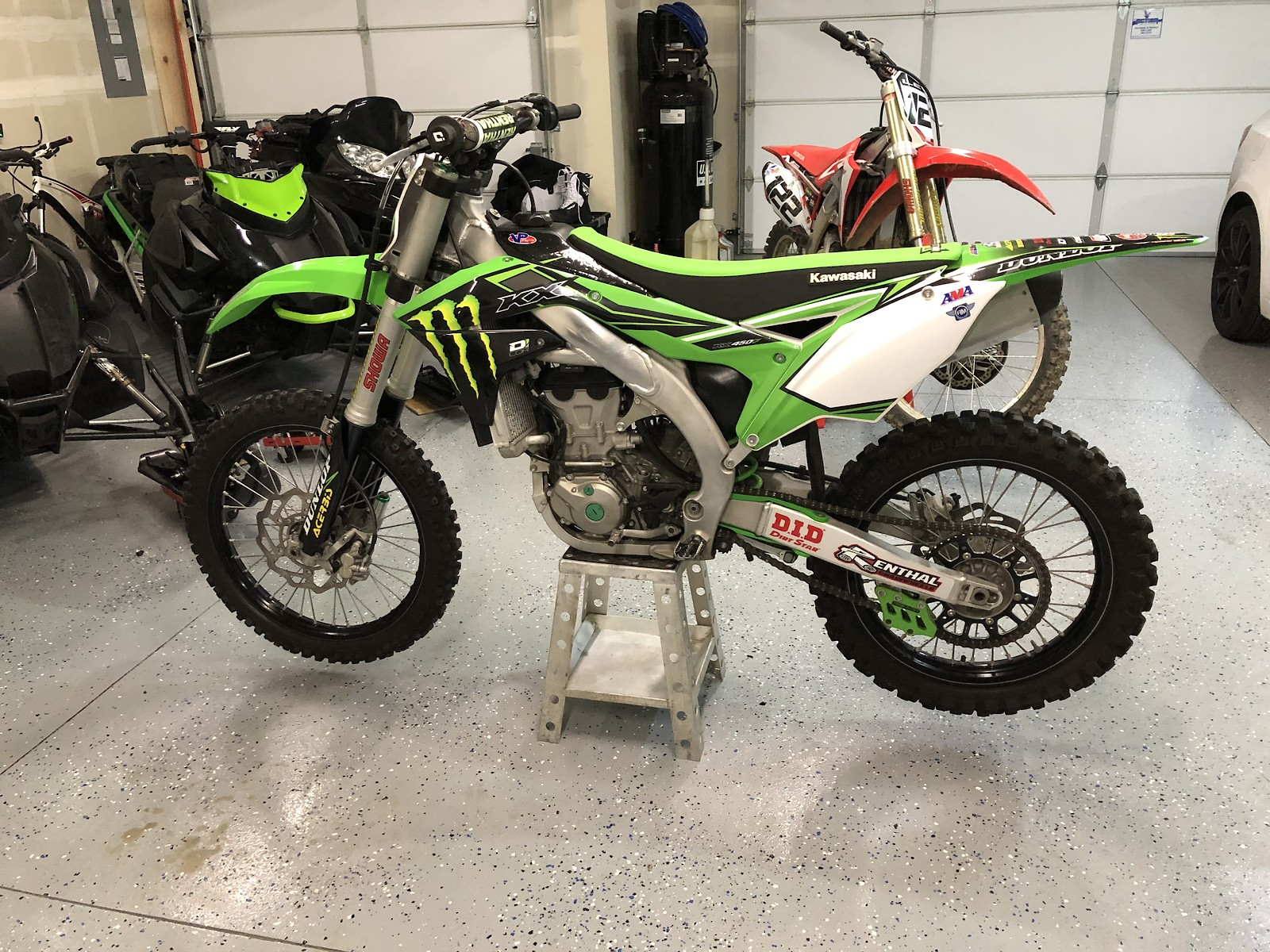 2017 Kawasaki Kx450f Under 15 Hrs 5500 For Salebazaar